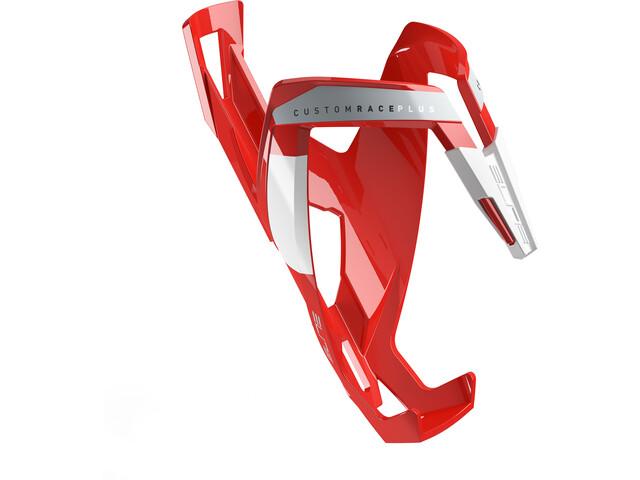 Elite Custom Race Plus Bottle Holder glossy red/white design